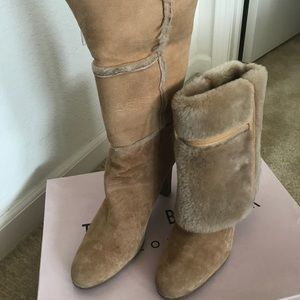Ted Baker London Fawn fur boots